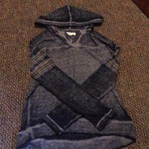 Hollister blue/grey sweatshirt hoodie